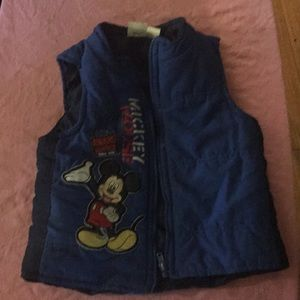 Mickey Mouse vest